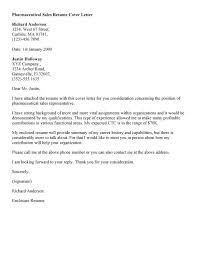 cover letter for medical sales representative sales