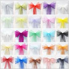 Inexpensive Chair Covers Discount Chair Bow Covers 2017 Bow Tie Chair Covers On Sale At