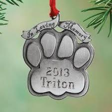 personalized pet memorial keepsake ornament keepsake aluminum