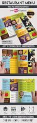 menu free psd bi fold psd brochure template free psd templates