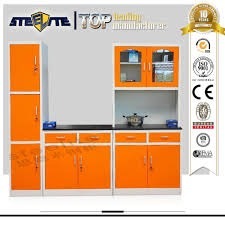 Kitchen Cabinets Ready Made Made In China Steel Kitchen Furniture Set Ready Made Simple