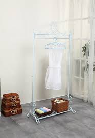 Decorative Clothes Rack Australia by Chic Hanging Clothes Rail Metal Garment Coat Clothing Rack Stand