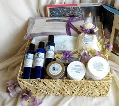 we make one of a made spa gift baskets individually