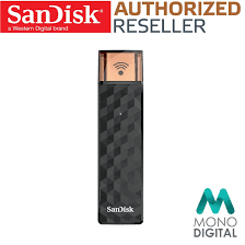 sandisk connect wireless stick 64gb wifi usb flash drive for ios
