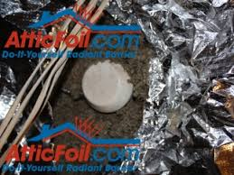Insulation Around Recessed Lighting Sealing Can Recessed Lights Atticfoil Radiant Barrier Do It