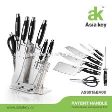 Stainless Steel Kitchen Knives Set by List Manufacturers Of Knives Block Sets Buy Knives Block Sets