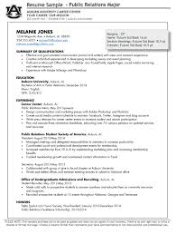 Public Relations Resume Template How To Write A Public Relations Resume Resumedoc