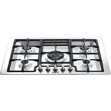 30 Stainless Steel Gas Cooktop Smeg Classic 30 Inch Drop In 5 Burner Gas Cooktop Stainless