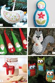 diy felt ornaments chickabug