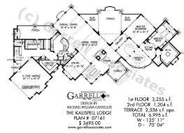 lodge house plans kalispell lodge house plan house plans by garrell associates inc