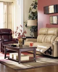 La Z Boy Living Room by La Z Boy Leather Reclining Living Room Group The
