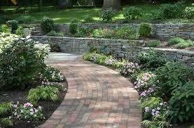 landscaping with bricks landscape edging bricks jbeedesigns outdoor landscape bricks