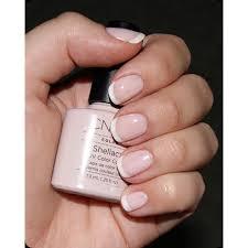 cnd creative nail design shellac power polish romantique cnd