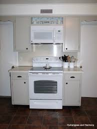 above stove microwave home appliances decoration