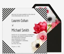 e wedding invitations online wedding invitations with rsvp tracking evite