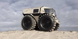 amphibious truck for sale the sherp atv is an amphibious vehicle for plowing through any terrain
