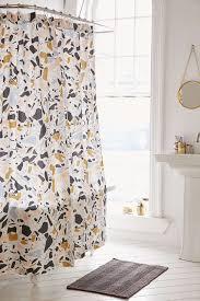 kate spade new york harbour stripe shower curtain curtain killian terrazzo shower curtain