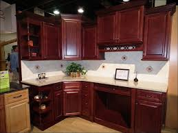 kitchen paint colors with cherry cabinets modern retro kitchen