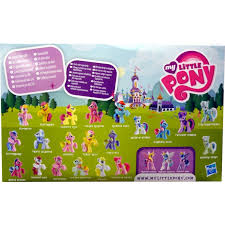 My Little Pony Blind Packs Yellow Blind Bag Identification Chart My Little Pony Madness