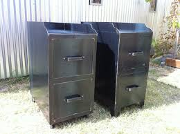 Vintage Metal File Cabinet Fantastic Retro Filing Cabinet With Vintage Metal File Cabinet