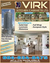 kitchen cabinets in surrey virk kitchen cabinets ltd indo canadian business pages