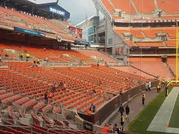 Cushioned Bleacher Seats With Backs Cleveland Browns Seating Guide First Energy Stadium Cleveland