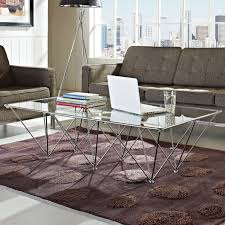 Motion Coffee Table - coffee tables modway prism coffee table fow wonderful motion