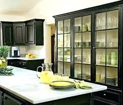 black glass kitchen cabinet doors u2013 sellua info