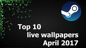 Top Ten Wallpapers Top 10 Live Wallpapers April 2017 Youtube