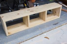 Diy Bench With Storage Diy Aztec Patterned Storage Bench Behrbox Challenge Reveal