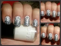 snow leopard nail art nail art gallery