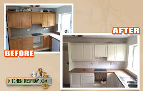 respray kitchen cabinets beech kitchen sprayed to farrow and ball shaded white kitchen