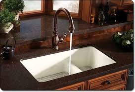 Caring For A Bronze Kitchen Faucet  Decor Trends - Sink faucet kitchen