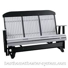 Glider Patio Furniture Patio Glider Bench Outdoor Furniture Mission Solid Front Porch