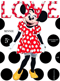 minnie mouse fashion magazine cover debut glamour
