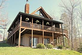 lake lure log cabin for sale with 2 66 acre lot and your own pond