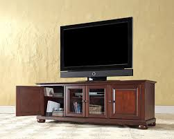 portrait of low profile media consoles in the living room to keep