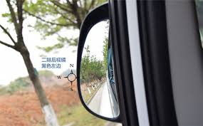 Blind Spot Side Mirror Car Rear Seat Door Blind Spot Mirror Auxiliary Wide Side Rear View
