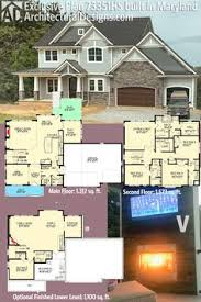 the home designers cottage style single story home exterior the house designers