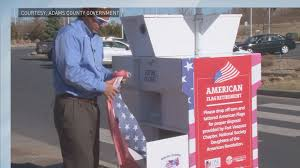 How To Dispose Of Old Flags 9news Com Recycle Your Tattered American Flags In Adams County