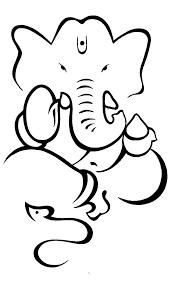 ganesha outline free download clip art free clip art on