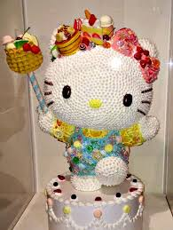 Hello Kitty Halloween Cake by 40 Awesome Photos From Hello Kitty U0027s 40th Anniversary Exhibit