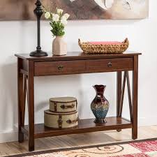 Foyer Table With Drawers Andover Mills Wilda Console Table U0026 Reviews Wayfair