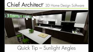 home design software chief architect modifiying sunlight angles in chief architect youtube