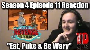 Puke Meme - jayempee reacts total drama revenge of the island 4x11 eat puke
