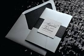 and black wedding invitations black and silver wedding invitations zoolook me