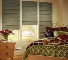 Flat Roman Shades - bali fabric roman shade verdant has small flower prints