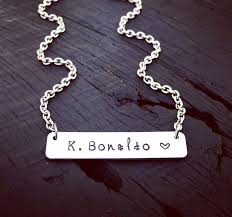 Name Plates Jewelry 82 Best Images About Mom Family Couples Jewelry On Pinterest