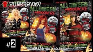 free halloween party flyer top halloween party flyers photoshop download youtube