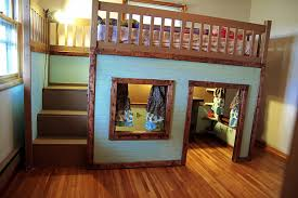 Loft Bed Plans Free Online by Playhouse Loft Bed Diy Plans Diy Free Download Garage Plans Free